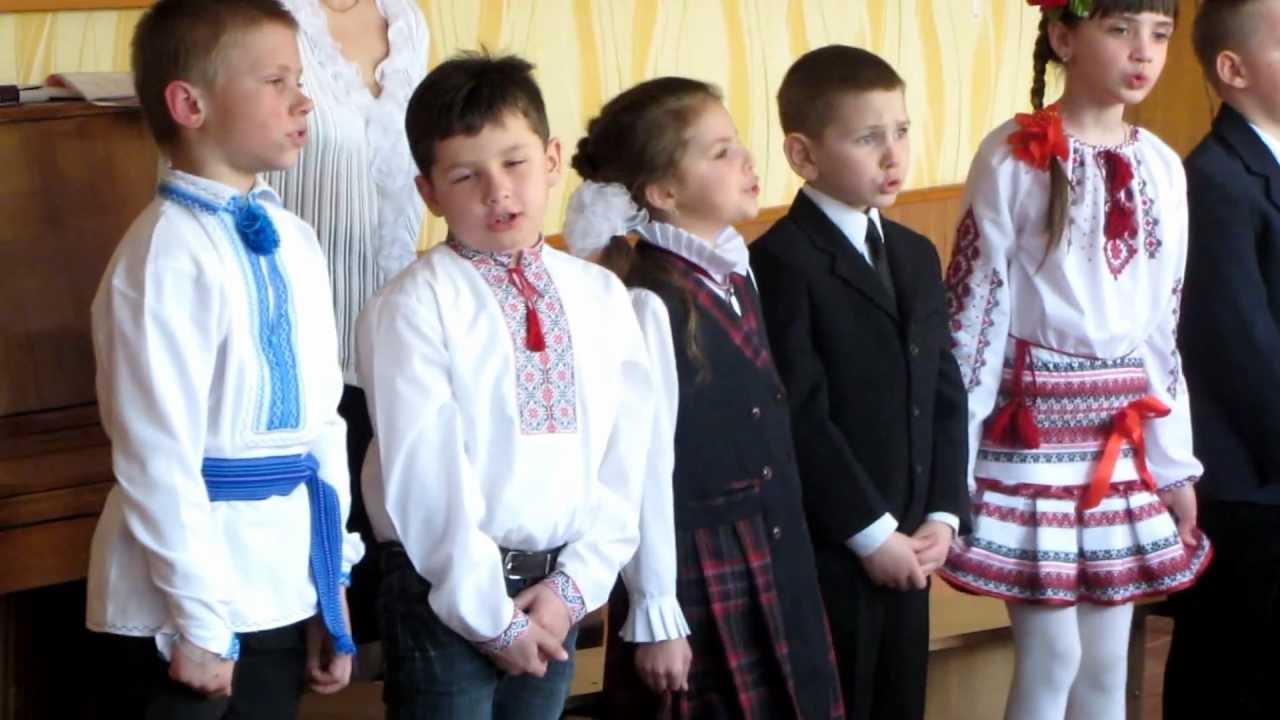 Novorichnі priv_tannya for the children of the child's buddy Prolіsok - zvіt 55
