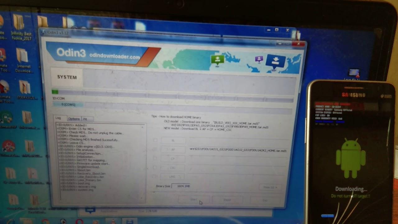 Samsung G531f Frp Combination File