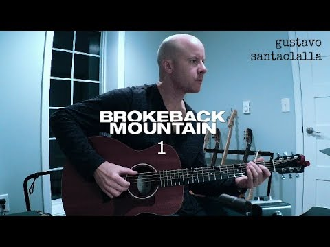 Gustavo Santaolalla: Brokeback Mountain 1 guitar theme + TAB mp3