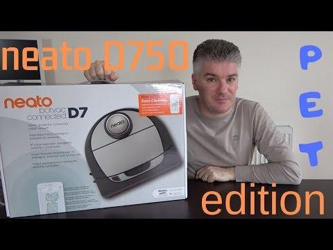 Neato D750 Pet Edition - RECENSIONE del MIGLIOR Robot aspirapolvere attualmente sul mercato