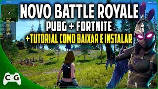 New Battle Royale Copia PUBG and Fortnite Gameplay + Tutorial How to download and install