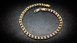 Панцирное плетение(панцирный браслет)Весь процесс