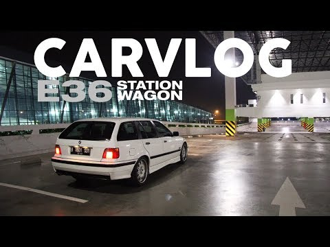 Ke Bimmer Junction Pakai BMW E36 Station Wagon - #CARVLOG INDONESIA