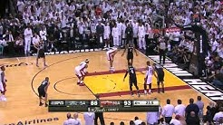 NBA Finals 2013: Game 7, Final minute