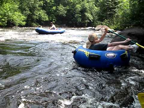 Wolf river tubing