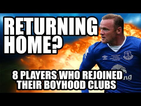 8 Players Who Returned To Their Boyhood Clubs