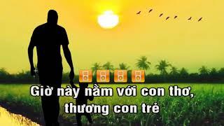 Gà Trống Nuôi Con - Karaoke Vân Quang Long