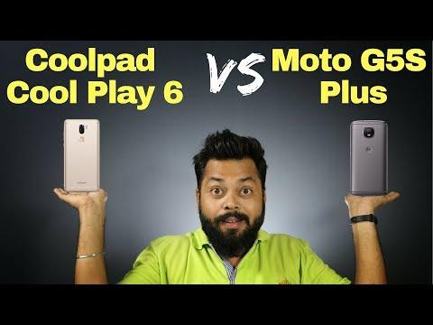 MOTO G5S PLUS Vs COOLPAD COOL PLAY 6 Comparison