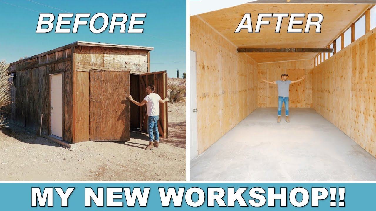 DIY Shed to Workshop Conversion | Ep. 1 Modern Builds