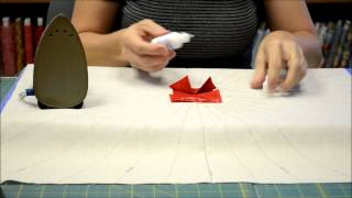Quilting Tutorial: Folded Circle Centerpiece