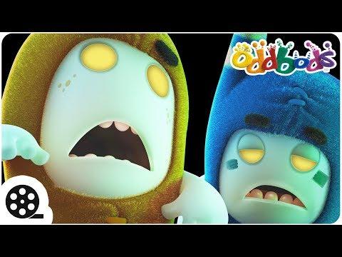Zombie Apocalypse   Oddbods - Halloween Special   Spooky Cartoons For Children