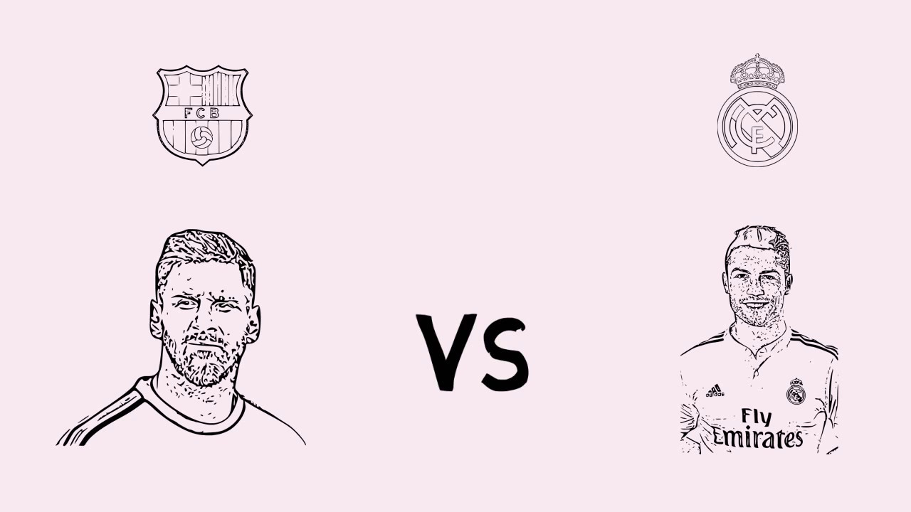 Messi Vs Cristiano Ronaldo Dibujos De Messi Y Cristiano Ronaldo