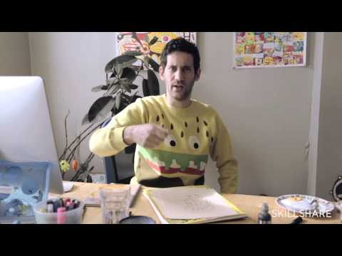 Drawing And Illustration Exercise With Jon Burgerman Youtube