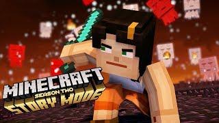 Epic Ghast Battle - Minecraft Story Mode Season 2 (Ep.11)