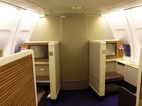 Thai Airways First Class Bangkok to Sydney