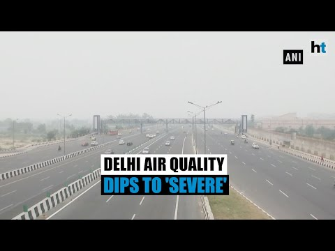 Thick blanket of smog envelops Delhi-NCR, air quality dips to 'severe'
