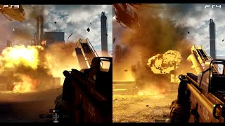 Battlefield 4 - PS3 vs PS4 - HD 1080p
