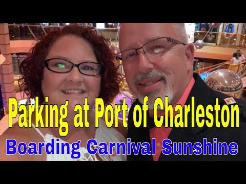 Parking At Charleston Cruise Port | Boarding Carnival Sunshine