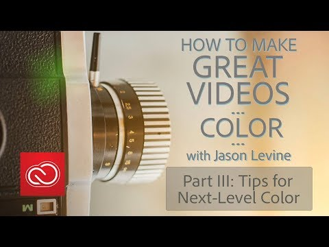 How to Make Great Videos: Color (Part 3) | Lumetri Scopes, LUTs, Color Wheels and HDR