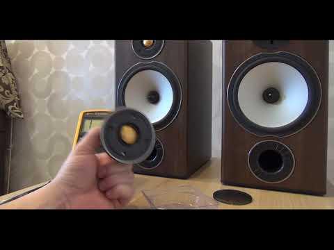 Monitor Audio Bronze, меняем твитер.