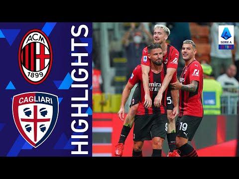 Milan 4-1 Cagliari | Giroud infiamma San Siro con una doppietta! | Serie A TIM 2021/22
