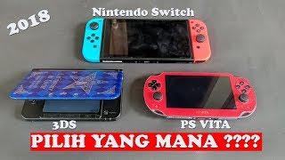Pilih Mana ?? Beli 3DS , PSVita , atau Nintendo Switch yaaa