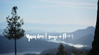 You Don't Miss A Thing // Amanda Cook // We Will Not Be Shaken