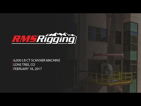 RMS Rigging - CT Scanner Machine Project