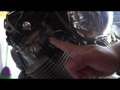Yamaha virago Setting Pilot Mixture On Dual Carbs. 85 xv700