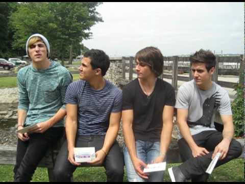 Big Time Rush Interview Dating Questions with Big Time Rush