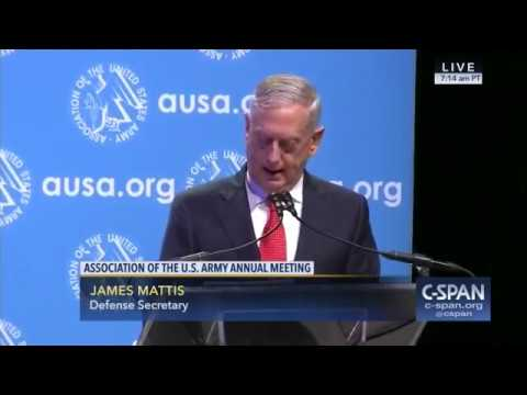 "Mad Dog Mattis to Army ""Be Prepared for Military Option on North Korea"""