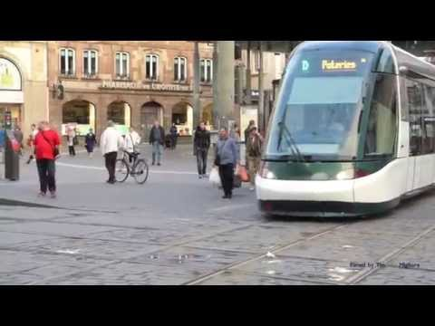 Trams of the Future in Strasbourg, France