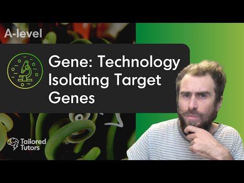 Gene Technology: Isolating Target Genes