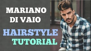 Mariano Di Vaio Curled End Hairstyle Tutorial | Inspired By Mariano Di Vaio Best Hairstyle 2017 Tips