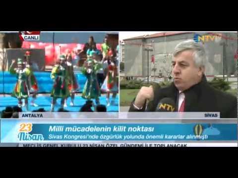 Ergun Tarıkahya 23 Nisan NTV Sivas canlı yayın