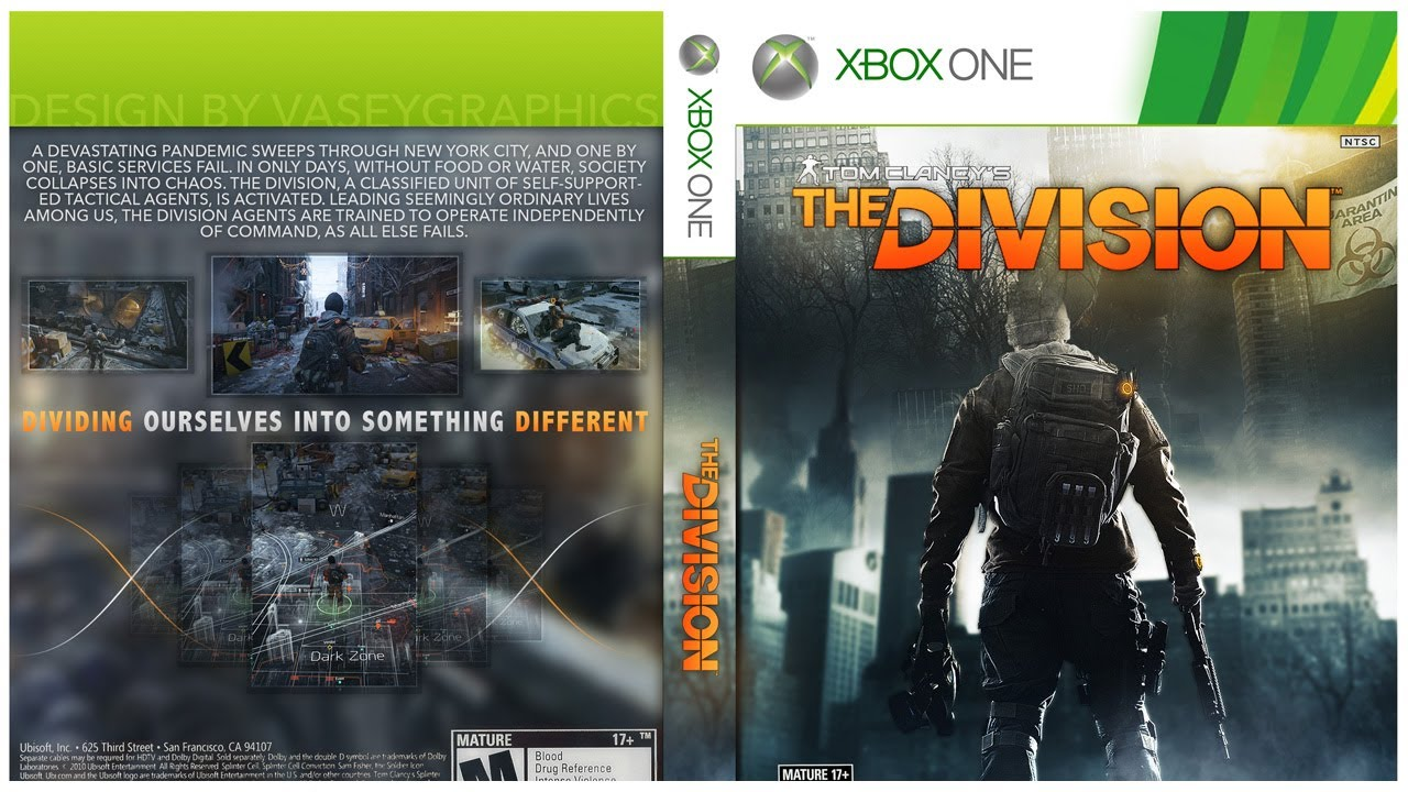 Xbox One Box Art The Division / ...
