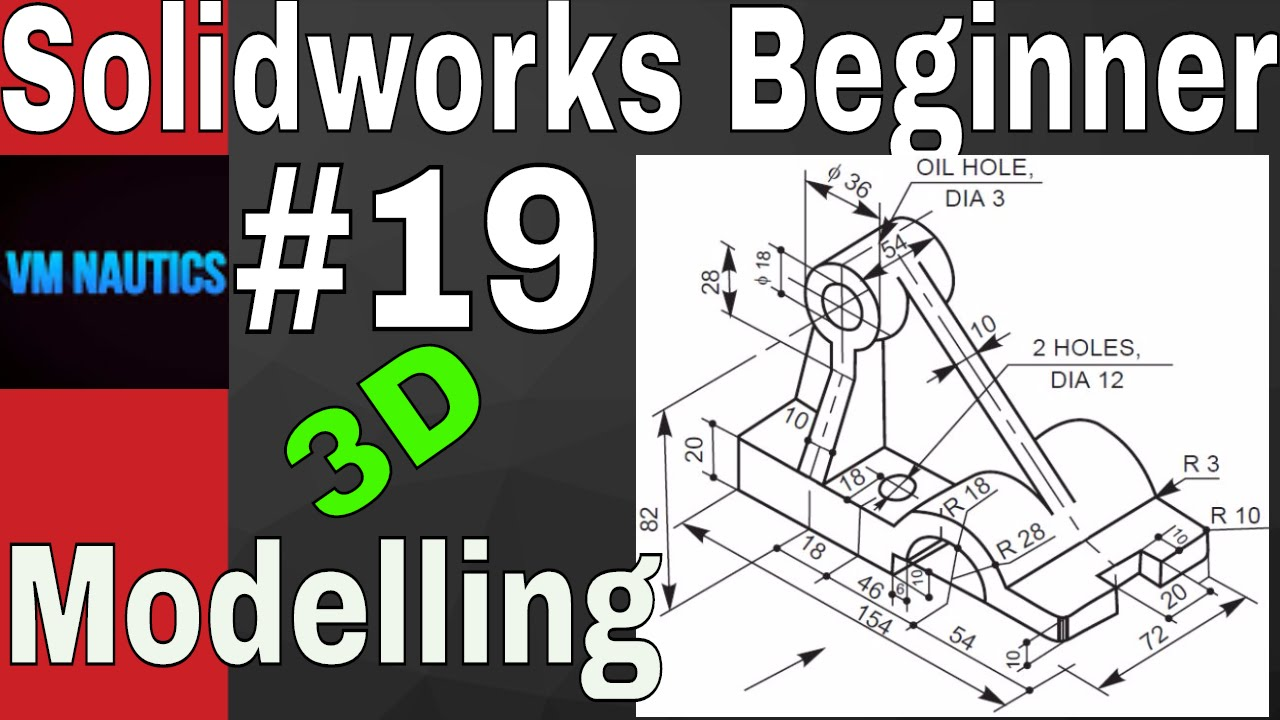 Solidworks tutorials beginners 3d 19 3d modelling youtube for 3d max lessons for beginners