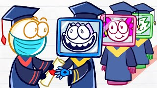 Max Gets His Digital Degree - Day of Career Short Animated Pencilanimation