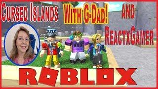 Roblox Verfluchte Inseln mit DeeterPlays aka G-Dad