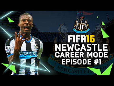 FIFA 16 | Newcastle Career Mode #1 - HOWAY THE LADS!!!