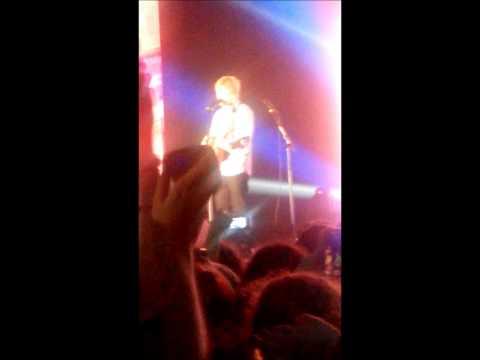 Ed Sheeran Live @ Milano 20.11.14 - Sing