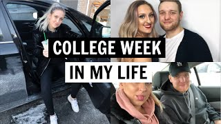 COLLEGE WEEK IN MY LIFE: valentines day and snow days | Western University