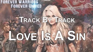 DORO - Love Is A Sin (OFFICIAL TRACK BY TRACK #10)