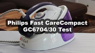 Philips GC6704 30 Fast CareCompact Test