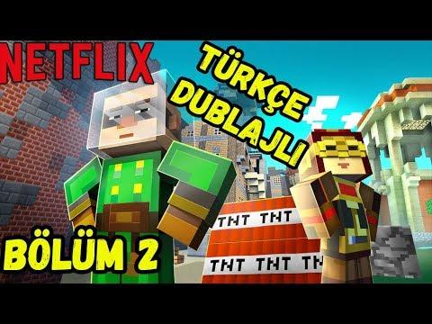 (Netflix) Minecraft: Story Mode 'Türkçe Dublaj'' Bölüm 2