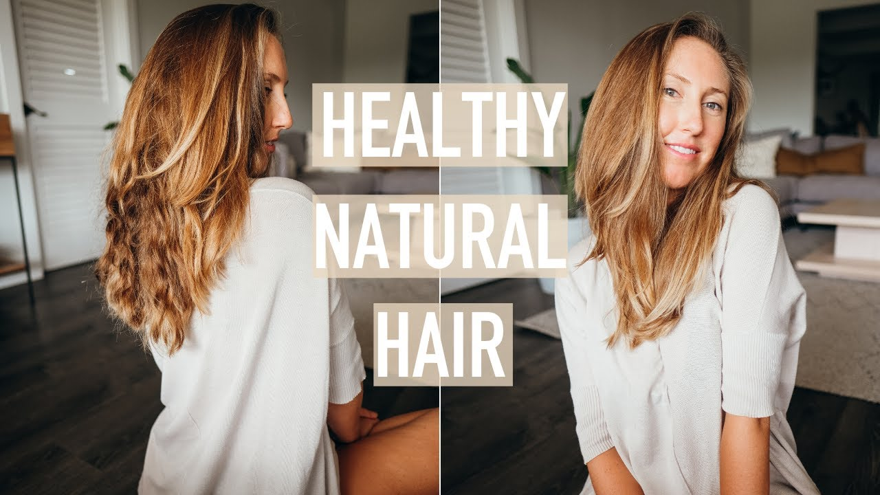My summer haircare routine // How to get healthy natural hair