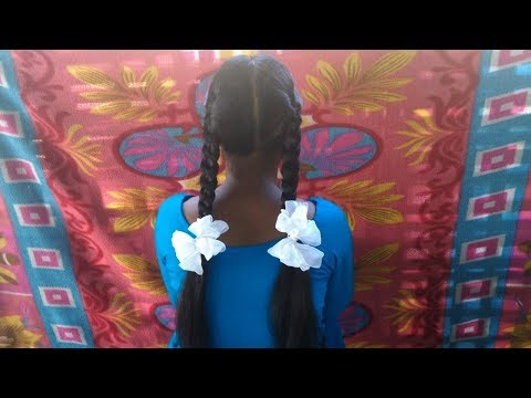 Ribbon Plait Hairstyle For School By Suchi Planet