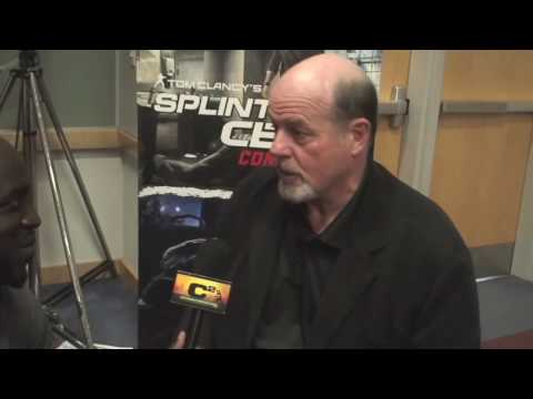 Splinter Cell: Conviction interview with Michael Ironside @ Toronto Comicon March 27 2010