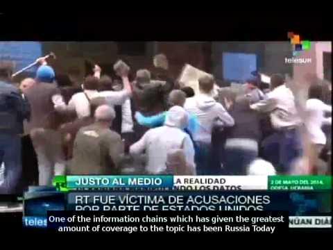 Bias in media coverage of Ukraine crisis