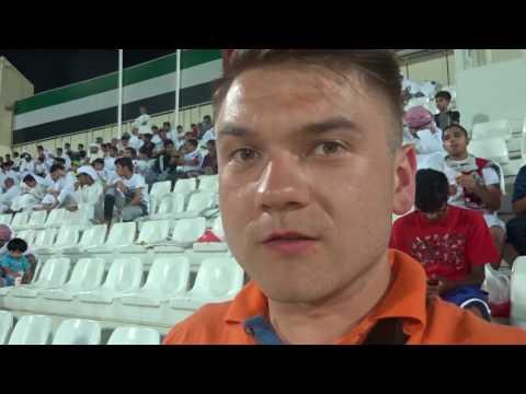 #18 Polak na stadionach - Sharjah SC - Emirates Club - Kapitan Adrian prowadzi do zwycięstwa